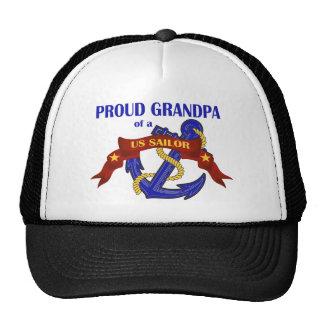 Proud Grandpa of a US Sailor Cap