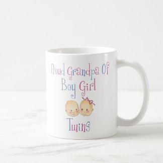 Proud Grandpa Of Boy Girl Twins Mugs