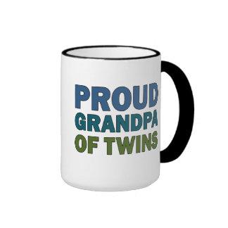 Proud Grandpa of Twins Mugs