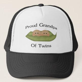 Proud Grandpa Of Twins Trucker Hat