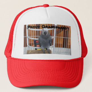 Proud Grandparrot Trucker Hat