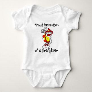 Proud Grandson of Firefighter Shirt