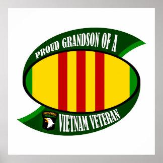 Proud Grandson Poster