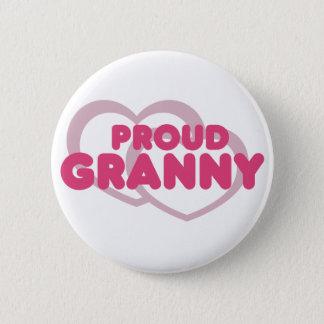 Proud Granny 6 Cm Round Badge