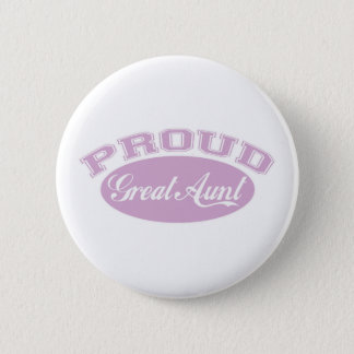 Proud Great Aunt 6 Cm Round Badge