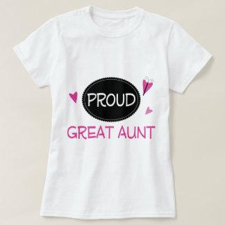 Proud Great Aunt T-Shirt