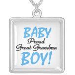 Proud Great Grandma Baby Boy Gifts Pendants