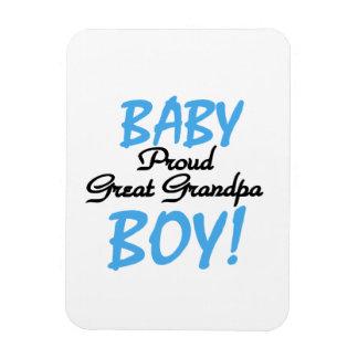 Proud Great Grandpa Baby Boy Gifts Rectangular Photo Magnet