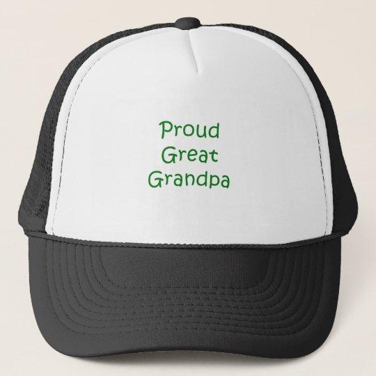Proud Great Grandpa Cap