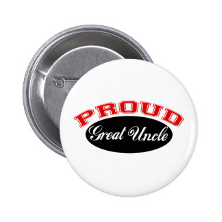 Proud Great Uncle 6 Cm Round Badge