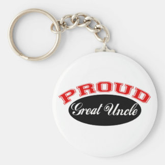 Proud Great Uncle Key Ring