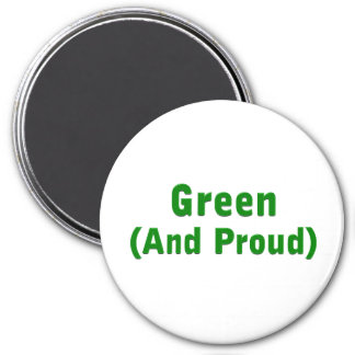 Proud Green Magnet