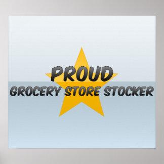 Proud Grocery Store Stocker Print