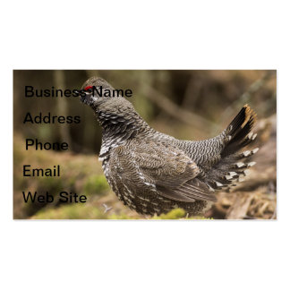 Proud Grouse Business Cards