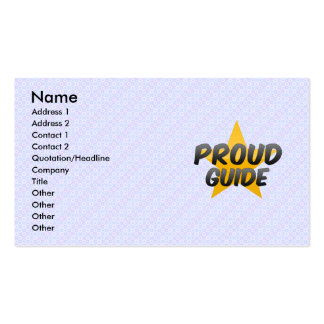 Proud Guide Business Card
