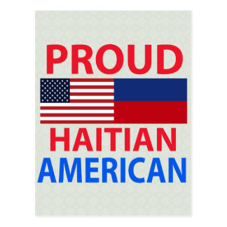 Proud Haitian American Postcard