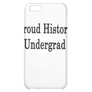 Proud History Undergrad iPhone 5C Covers