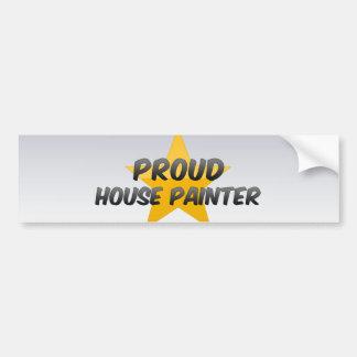 Proud House Painter Bumper Stickers