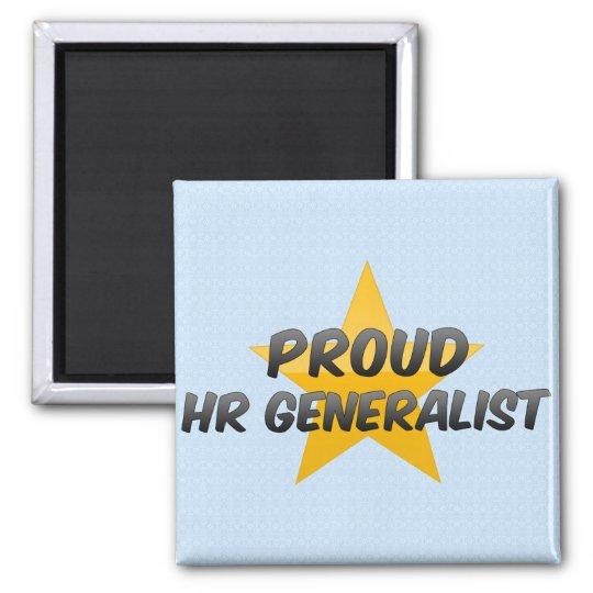 Proud Hr Generalist Square Magnet