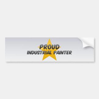 Proud Industrial Painter Bumper Sticker
