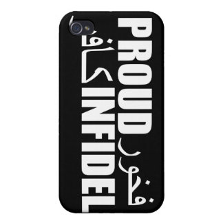 Proud Infidel Cases For iPhone 4