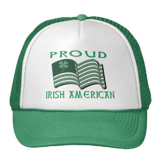 PROUD IRISH AMERICAN FLAG HAT