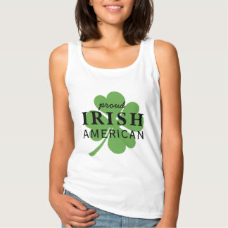 Proud Irish American St. Patrick's Day Tank Top