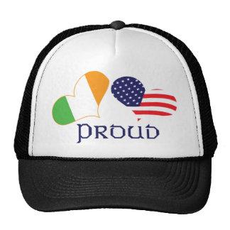 Proud Irish American Trucker Hat