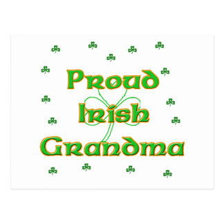 Proud Irish Grandma Postcard