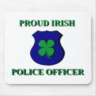 Proud Irish Police Officer Mouse Mat