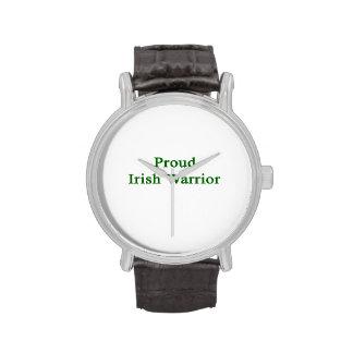 Proud Irish Warrior Wrist Watch