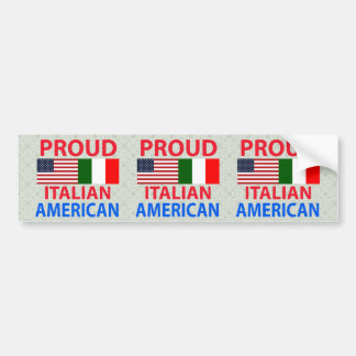 Proud Italian American Bumper Sticker