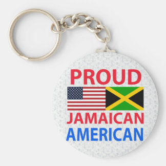 Proud Jamaican American Key Chain