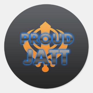 Proud Jatt, Jatt pride Round Sticker