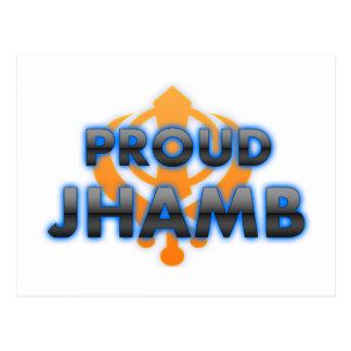 Proud Jhamb, Jhamb pride Post Cards