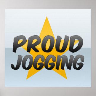 Proud Jogging Posters