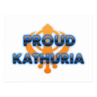 Proud Kathuria, Kathuria pride Postcard