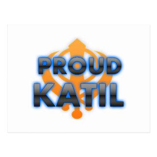 Proud Katil, Katil pride Postcard