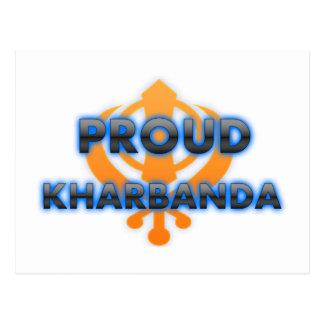 Proud Kharbanda, Kharbanda pride Postcard