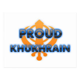 Proud Khukhrain, Khukhrain pride Postcards