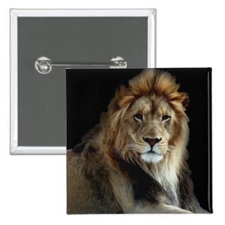 Proud King of the Animal Kingdom 15 Cm Square Badge