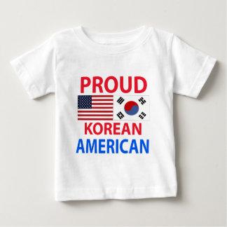 Proud Korean American Baby T-Shirt
