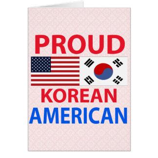 Proud Korean American Card