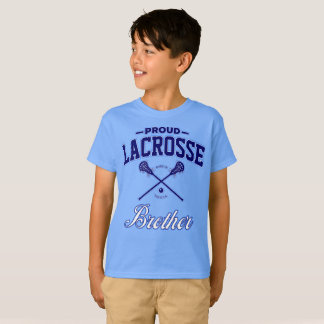 Proud Lacrosse Brother T-Shirt