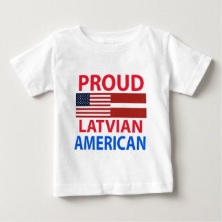 Proud Latvian American Baby T-Shirt