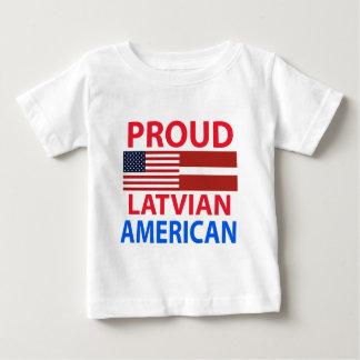 Proud Latvian American Baby T-Shirt