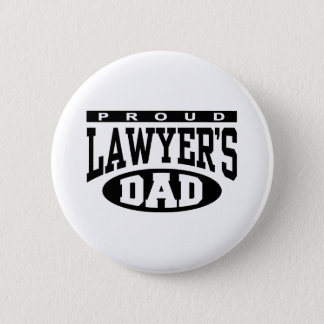 Proud Lawyer's Dad 6 Cm Round Badge