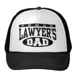 Proud Lawyer's Dad Cap