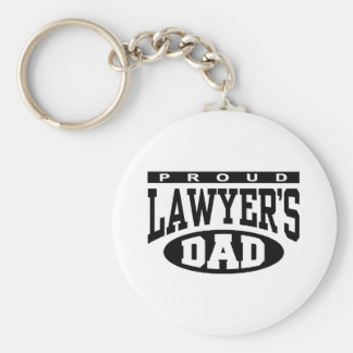 Proud Lawyer's Dad Key Ring