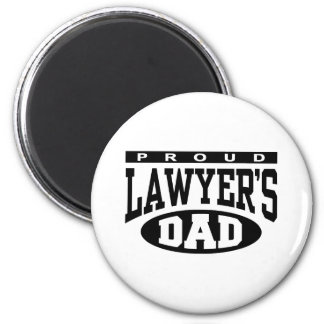 Proud Lawyer's Dad Magnet